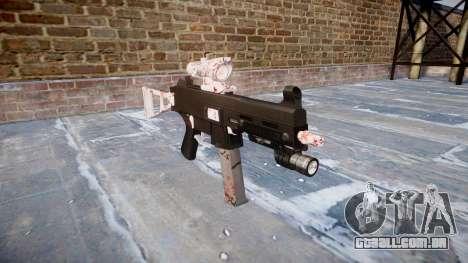 Arma UMP45 flor de Cerejeira para GTA 4