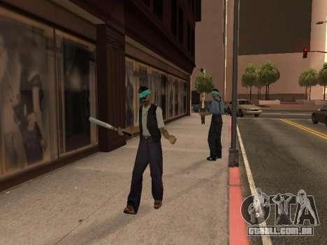 Áreas de troca de gangues e armas para GTA San Andreas terceira tela