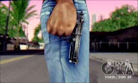 Beretta 92 para GTA San Andreas terceira tela