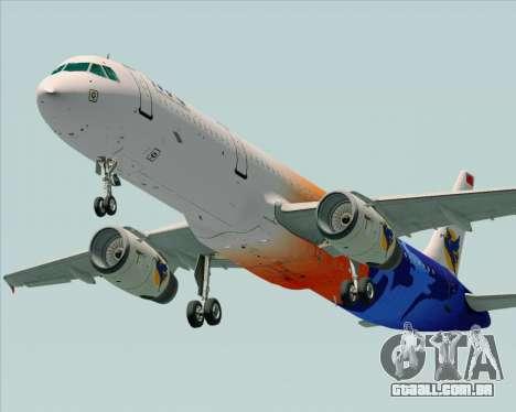 Airbus A321-200 Myanmar Airways International para o motor de GTA San Andreas