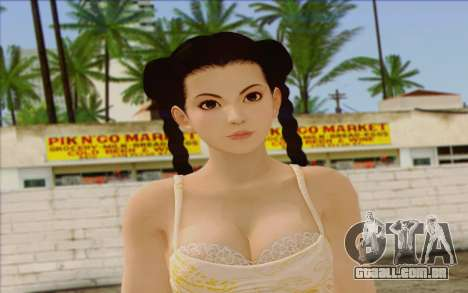 Pai from Dead or Alive 5 v3 para GTA San Andreas terceira tela