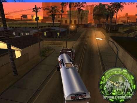 Velocímetro HITMAN para GTA San Andreas sexta tela