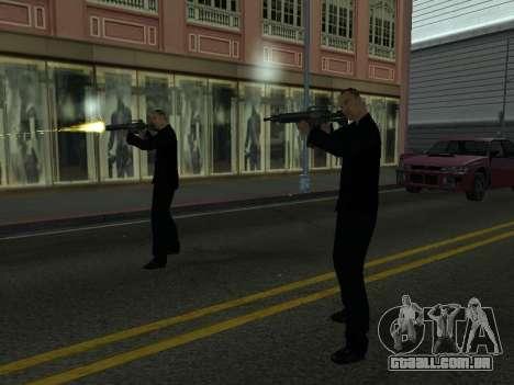 Áreas de troca de gangues e armas para GTA San Andreas