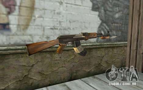 AK47 from Firearms v1 para GTA San Andreas segunda tela