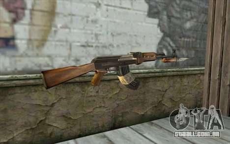 AK47 from Firearms v1 para GTA San Andreas segunda tela