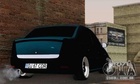 Dacia Logan 1.6 DJ para GTA San Andreas esquerda vista