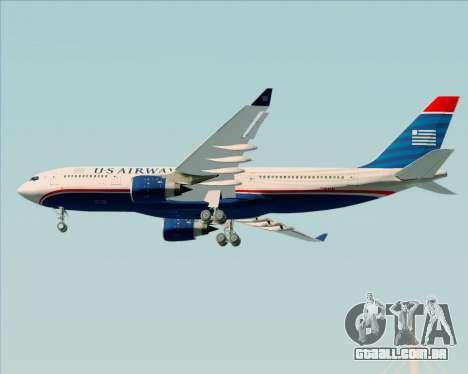 Airbus A330-200 US Airways para GTA San Andreas vista direita