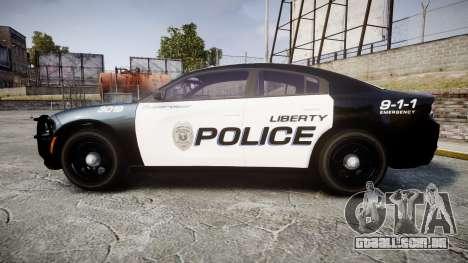 Dodge Charger 2015 LPD CHGR [ELS] para GTA 4 esquerda vista
