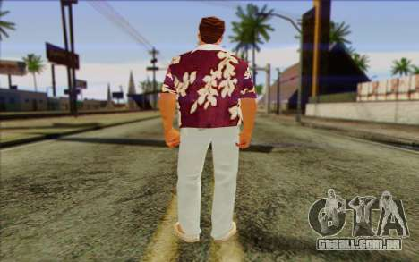Diaz Gang from GTA Vice City Skin 1 para GTA San Andreas segunda tela