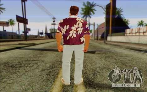 Diaz Gang from GTA Vice City Skin 1 para GTA San Andreas segunda tela