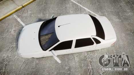 VAZ-2170 de escape AMG para GTA 4 vista direita