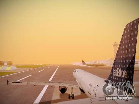 Airbus A321-232 jetBlue Woo-Hoo jetBlue para o motor de GTA San Andreas