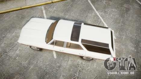Oldsmobile Vista Cruiser 1972 Rims1 Tree3 para GTA 4 vista direita