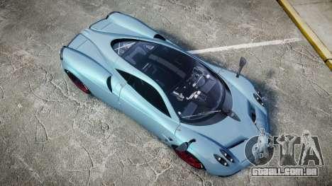 Pagani Huayra 2013 [RIV] para GTA 4 vista direita