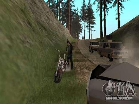 Áreas de troca de gangues e armas para GTA San Andreas por diante tela