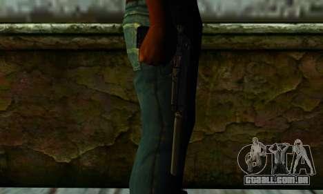 Beretta M9 Silenced para GTA San Andreas terceira tela