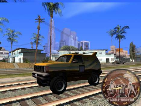 Velocímetro HITMAN para GTA San Andreas terceira tela