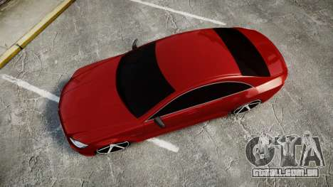 Mercedes-Benz CLS 63 AMG Vossen para GTA 4 vista direita