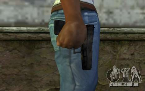 Glock from Beta Version para GTA San Andreas terceira tela