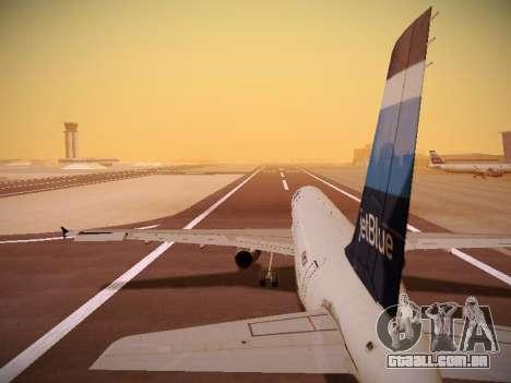 Airbus A321-232 Big Blue Bus para GTA San Andreas