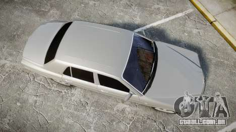 Bentley Arnage T 2005 Rims3 para GTA 4 vista direita
