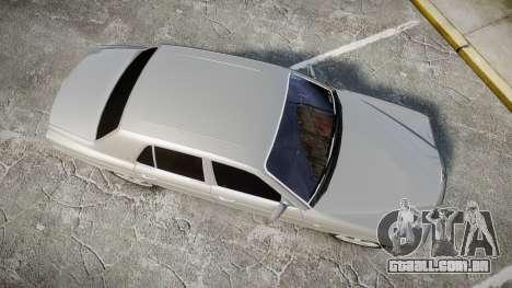 Bentley Arnage T 2005 Rims3 para GTA 4 vista direita