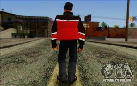 Hood from GTA Vice City Skin 2 para GTA San Andreas segunda tela