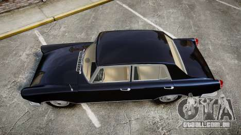 FSO Warszawa Ghia 1959 para GTA 4 vista direita