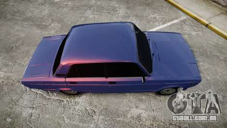 VAZ-2105 hooligan estilo para GTA 4 vista direita