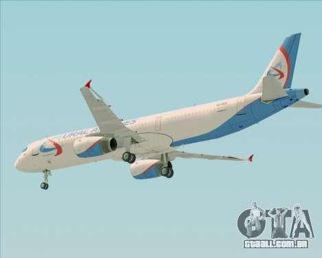 Airbus A321-200 Ural Airlines para o motor de GTA San Andreas