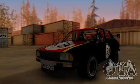 Dacia 1410 Sport para GTA San Andreas esquerda vista