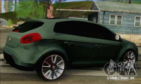 Fiat Bravo 2 para GTA San Andreas esquerda vista