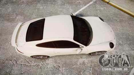 Ruf RGT-8 para GTA 4 vista direita