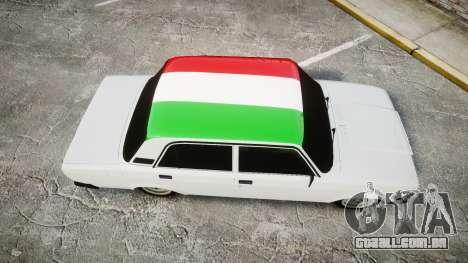 VAZ-2107 Itália para GTA 4 vista direita