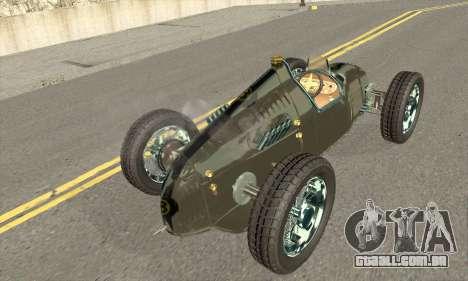 Audi Type C 1936 Race Car para GTA San Andreas esquerda vista