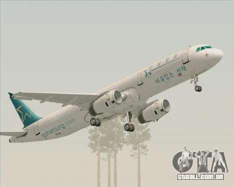 Airbus A321-200 Hansung Airlines para GTA San Andreas