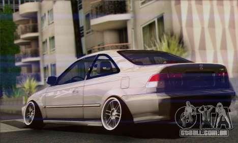 Honda Civic Si Coupe para GTA San Andreas esquerda vista