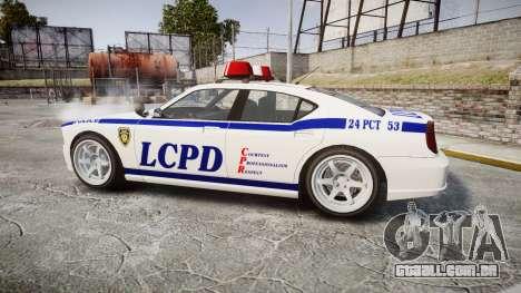 Bravado Buffalo Police para GTA 4 esquerda vista
