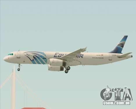 Airbus A321-200 EgyptAir para o motor de GTA San Andreas
