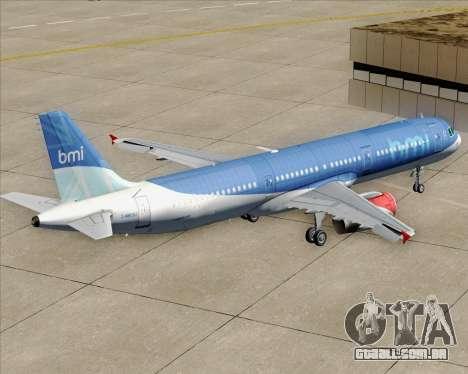 Airbus A321-200 British Midland International para GTA San Andreas
