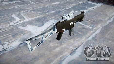 Arma UMP45 Crânios para GTA 4 segundo screenshot