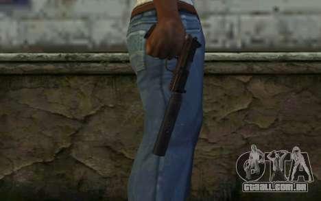 FN FNP-45 Com Silenciador para GTA San Andreas terceira tela