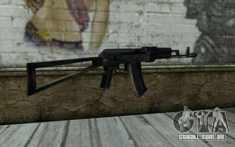 АКС-74 do Paranoia para GTA San Andreas segunda tela