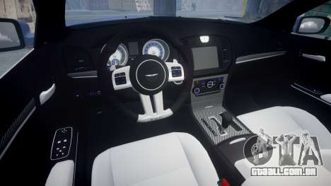 Chrysler 300 SRT8 2012 PJ SRT8 para GTA 4 vista interior