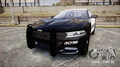 Dodge Charger 2015 LPD CHGR [ELS] para GTA 4