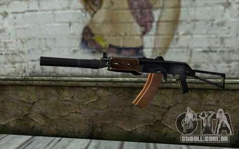 AKS-74U com PBS-5 para GTA San Andreas