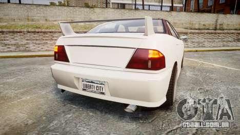 Dinka Chavos HSX para GTA 4 traseira esquerda vista