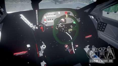Suzuki Monster Sport SX4 2011 para GTA 4 vista interior