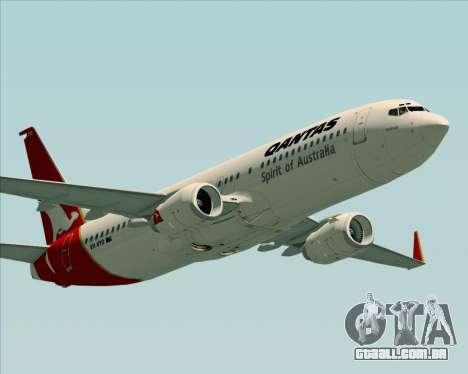 Boeing 737-838 Qantas (Old Colors) para o motor de GTA San Andreas