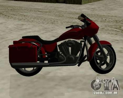 Bagger para GTA San Andreas vista direita